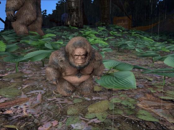 Gigantopithecus Baby