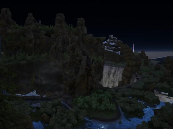 Megalania hat einen Höhenflug