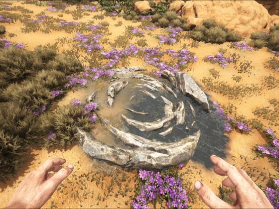 Eine Wasserquelle in ARK - Scorched Earth