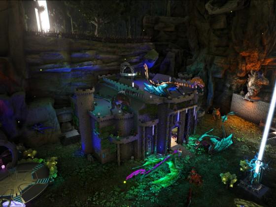 [Jungle Base] Schloss Außenansicht