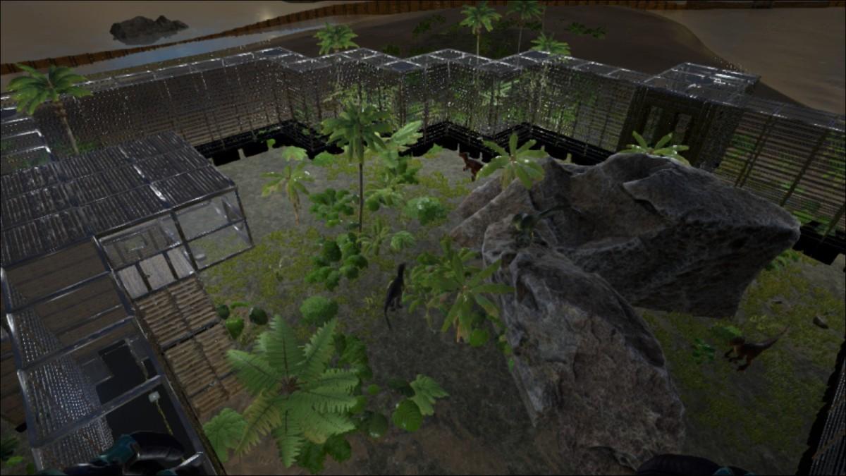 raptoren gehege gallery ark survival evolved forum und