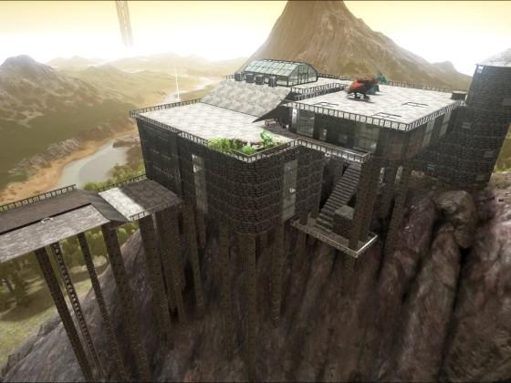 Thors Bergfestung (The Secret Island)