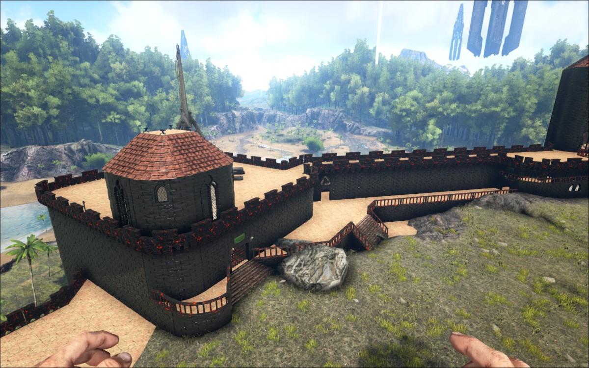 Burgbau Teil VI
