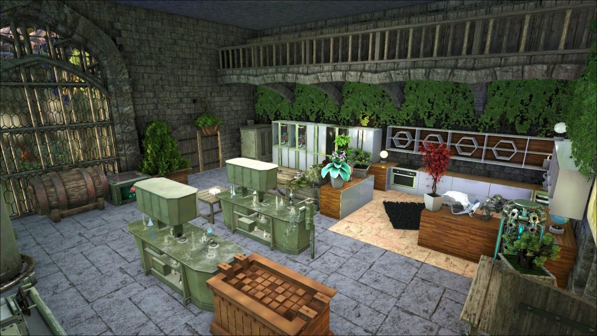 [Jungle Base] Crafting Raum
