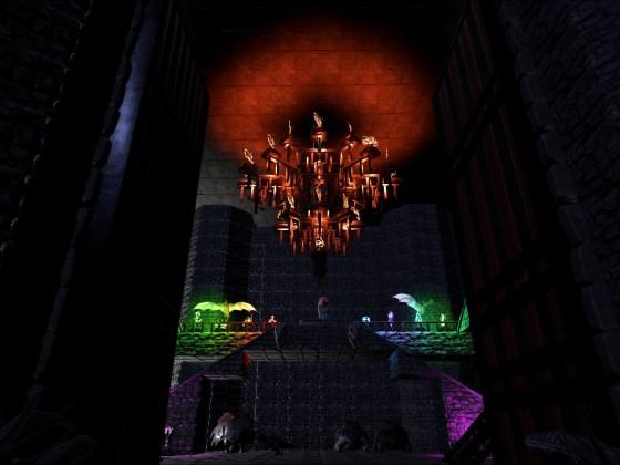 Eingangsbereich Burg