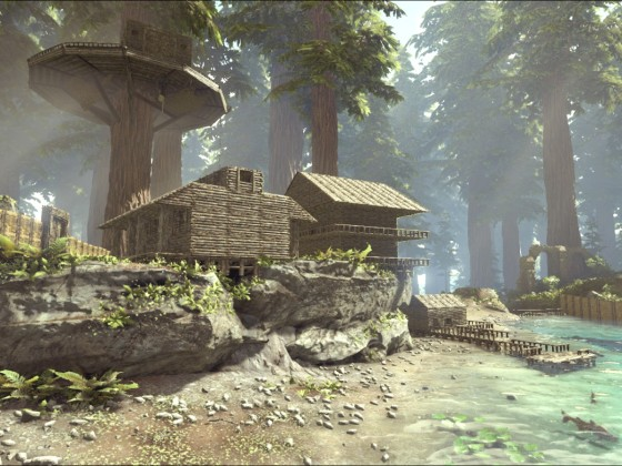 Meine eigenes kleines Dorf wächst langsam