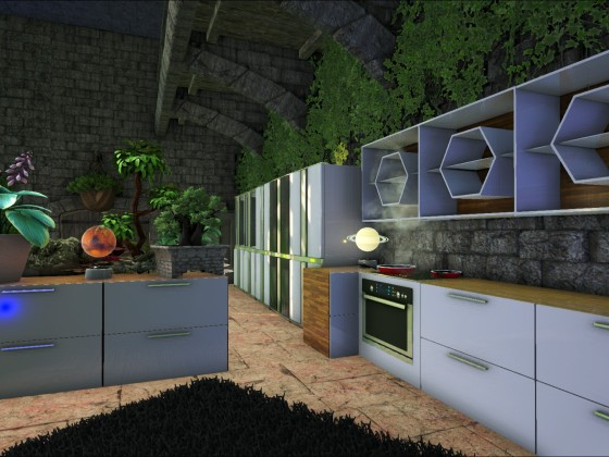 [Jungle Base] Crafting Raum (Küche)