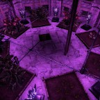 Eisburg Greenhouse Beleuchtung Stock 2