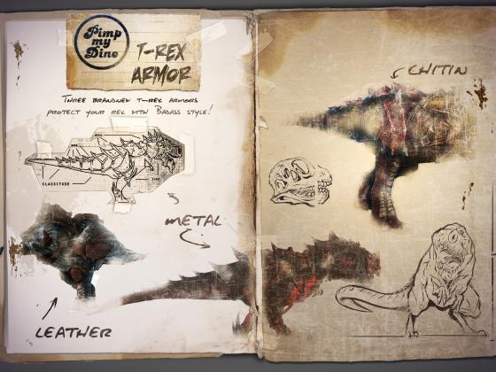 Pimp my Dino Armor REX
