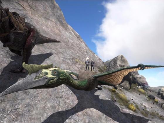 Quetzalcoatlus - frisch gezähmt