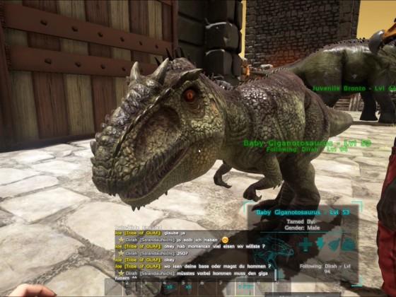 Giganotosaurus erfolgreich ausgebrütet!