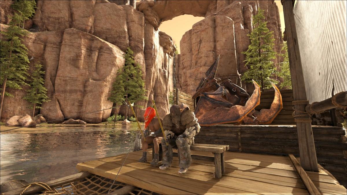 Angeln in den Canyon's von Ragnarok