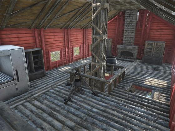 Obergeschoss im Wirtshaus