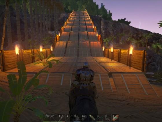 Dino Brücke/Rampe
