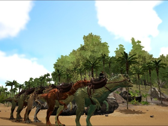 """Der """"etwas"""" andere Allosaurus!"""