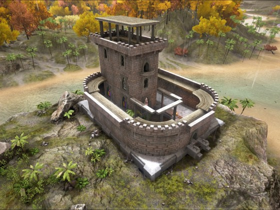 Castle Windrop Step 1