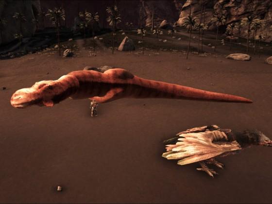Der erste Sorna Tyrannosaurus