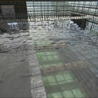 Anlegestelle in Aquatica über wasser