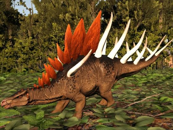 Der erste seiner Art (Kentrosaurus)