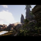 Awesome! Indominus Rex in Ark (Mod)